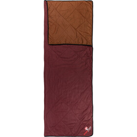 Grüezi-Bag WellhealthBlanket Wool Home, dark red/rusty orange